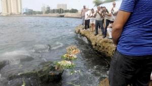 Despedida a la destacada actriz Alina Ridríguez, en la costa cercana al Restaurante 1830, en el Vedado, La Haba, Cuba, el 28 de julio del 2015. AIN FOTO/Oriol de la Cruz ATENCIO/sdl