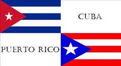BANDERAS CUBA PUERTO RICO