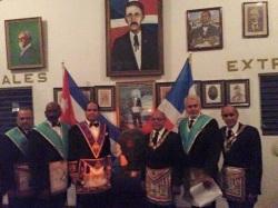 Masonería Dominicana, Logia Dominicana, logia Caballeros de memphis