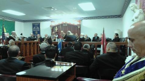 Resultado de imagen para foto de la masoneria exiliada en miami