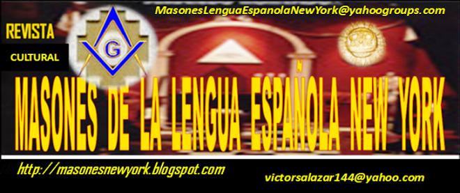 MASONES DE LA LENGUA ESPAÑOLA NUEVA YORK