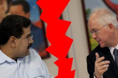 El régimen se encuentra fracturado entre Ramirez y Maduro