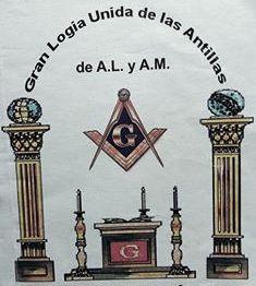 Resultado de imagen para logo de la gran logia unida de las antillas
