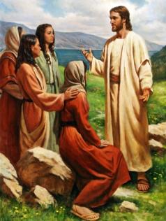 Resultado de imagen para FOTO DE Marta, María y Lázaro de Betania