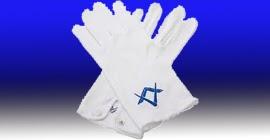 Resultado de imagen para foto de guantes masonicos