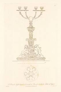 Uno de los bocetos para la Placa Sussex